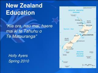 """New Zealand Education """"Kia ora, nau mai, haere mai ki te Tahuhu o Te Matauranga"""""""
