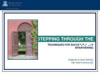 TRENDS IN JOB INTERVIEWING