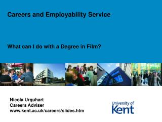 What can I do with a Degree in Film?