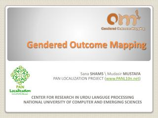 Gendered Outcome Mapping