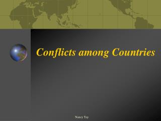 Conflicts among Countries