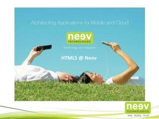 HTML 5 @Neev