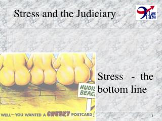Stress and the Judiciary