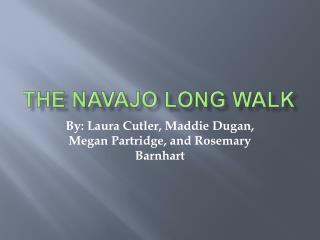 The Navajo Long Walk