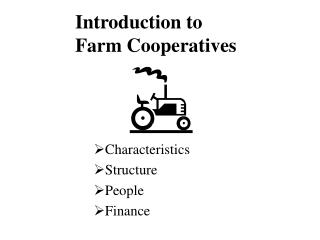Characteristics Structure People Finance