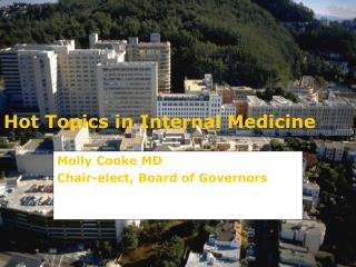 Hot Topics in Internal Medicine
