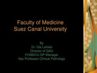 Faculty of Medicine Suez Canal University