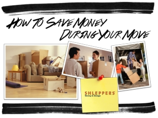 How to Save Money During Your Move
