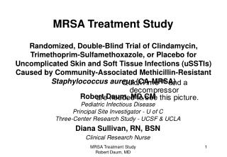 MRSA Treatment Study
