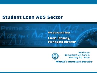 Student Loan ABS Sector