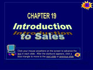 Introduction to Sales