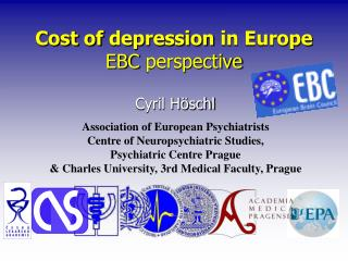 Cost of depression  in  Europe EBC  perspective