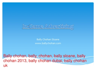 Bally Chohan IT Solution Sloane