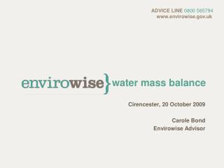 water mass balance
