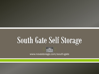 South Gate Self Storage