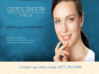 Cosmetic Dentistry Cancun