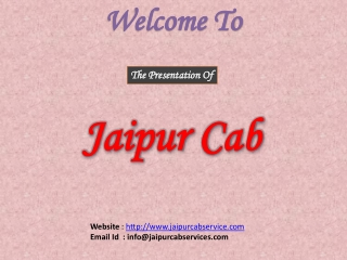 Jaipur Cab Services