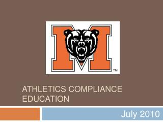 Athletics Compliance Education