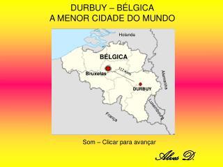 DURBUY – BÉLGICA A MENOR CIDADE DO MUNDO