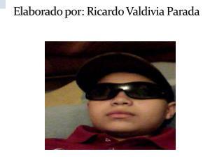 Elaborado por: Ricardo Valdivia Parada