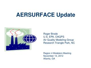AERSURFACE Update