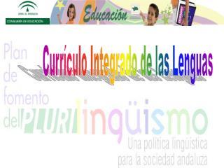 Currículo Integrado de las Lenguas