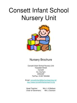 Consett Infant School Nursery Unit