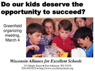 Wisconsin Alliance for Excellent Schools