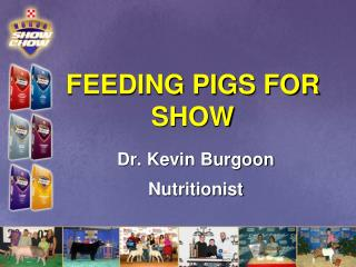 FEEDING PIGS FOR SHOW