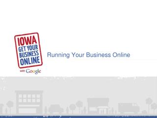 Running Your Business Online