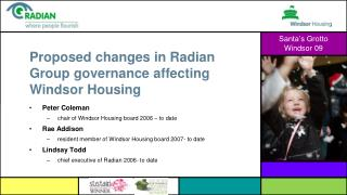 Proposed changes in Radian Group governance affecting Windsor Housing