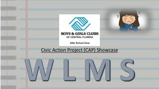Civic Action Project (CAP) Showcase