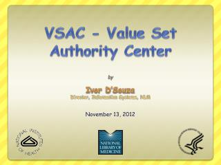 VSAC - Value Set Authority Center