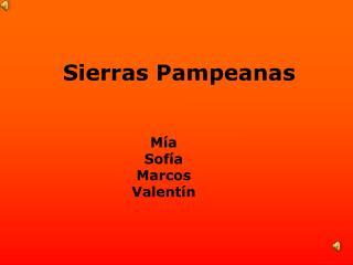 Sierras Pampeanas