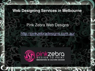 Web Designing Services in Melbourne