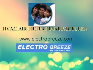 Commercial Air Purification System Manufacturer - Electrobre