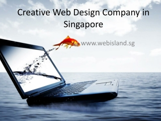 Creative Web design Company in Singapore
