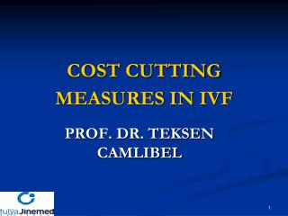 COST CUTTING MEASURES IN IVF