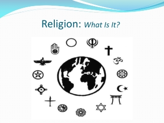 religion: what is it