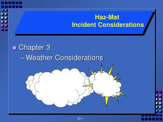 Chapter 3 Weather Considerations