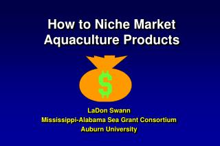 How to Niche Market  Aquaculture Products