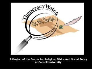 A Project of the Center for Religion, Ethics And Social Policy  at Cornell University