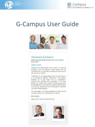 G-Campus User Guide