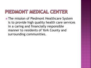 Piedmont Medical Center