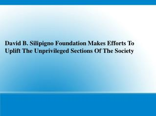 David B. Silipigno Foundation