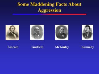 Some Maddening Facts About Aggression