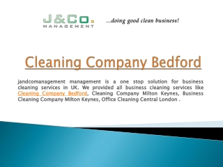 Best cleaning services by J