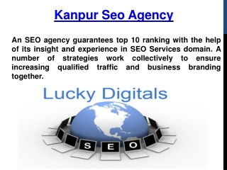 Kanpur SEO Agency - Lucky Digitals