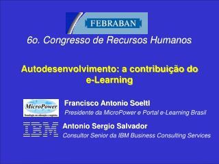 Autodesenvolvimento: a contribuição do e-Learning