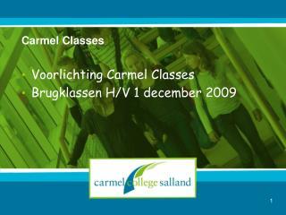 Carmel Classes